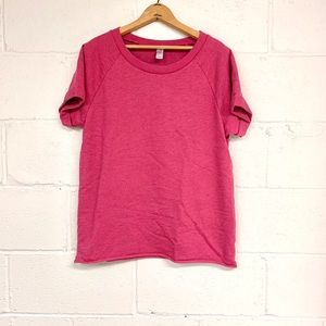 Alternative Apparel short sleeve French terry T.